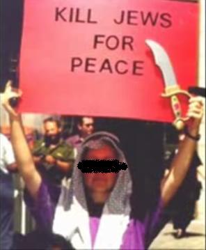 kill jews for peace