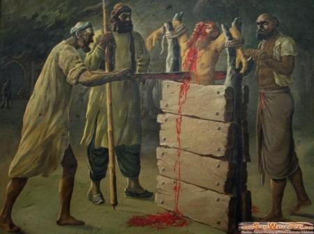 Graeueltaten Tuerken in Byzanz