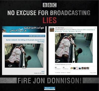 bbc gaza lies