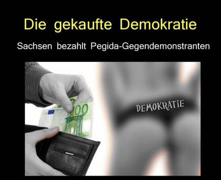 Demokratie gekauft