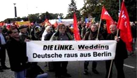 Linke Deutsche raus aus Wedding