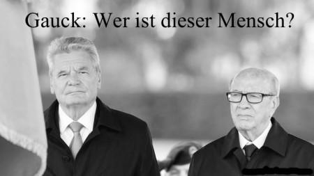 Gauck- wer ist er