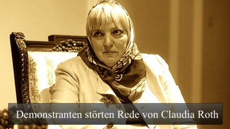 Claudia Roth Rede