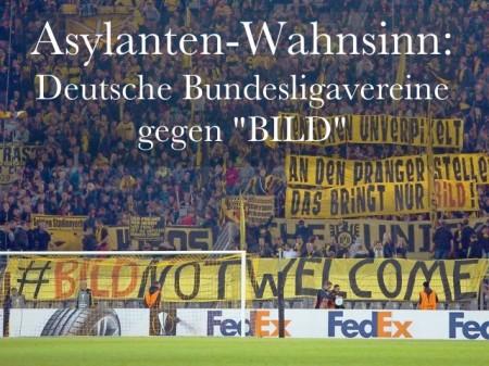 Bundesligavereine gegen BILD