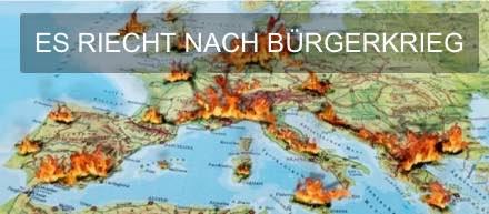 ES RIECHT NACH BUERGERKRIEG