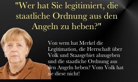 Merkel gegen Vol und Land