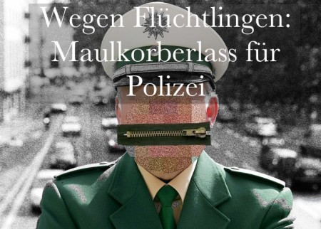 Polizei Maulkorberlass