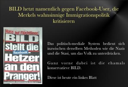Bild hetzt gegen Buerger