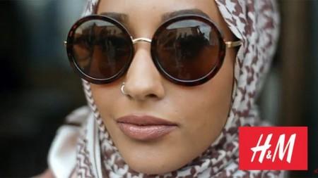 H&M Werbung fuer Hidschab