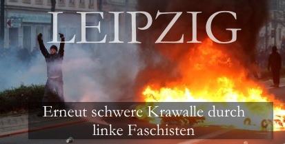 Leipzig Krawalle