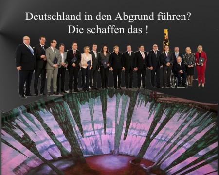 Deutschland Abgrund
