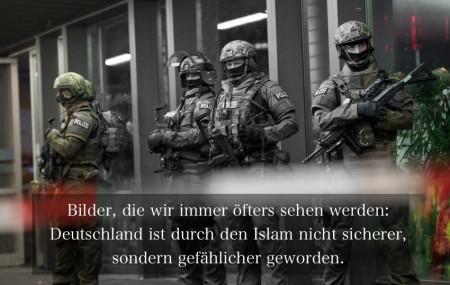 Polizisten stehen am 31.12.2015 in M¸nchen (Bayern) vor dem Hauptbahnhof. Die Polizei in M¸nchen hat am Silvesterabend vor einem Terroranschlag in der bayerischen Landeshauptstadt gewarnt. Foto: Sven Hoppe/dpa +++(c) dpa - Bildfunk+++
