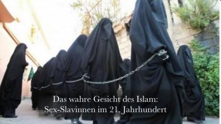 Sex-sklavinnen Islam