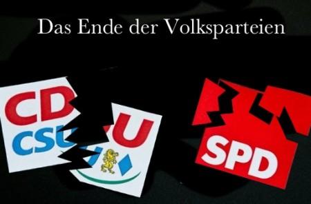Volksparteien Ende