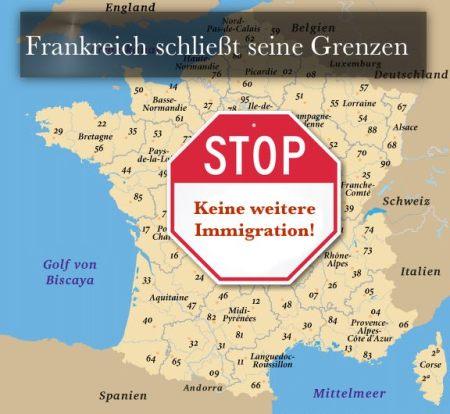 Frankreich Grenzen dicht