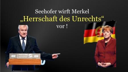 Seehofer gegen Merkel2