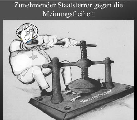 Terror gg Meinungsfreiheit