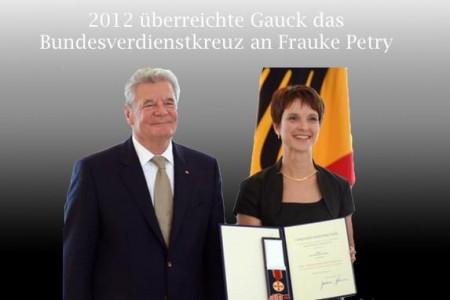 Frauke Petry Bundesverdienstkreuz