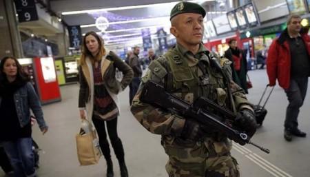 Soldaten in Bruessel