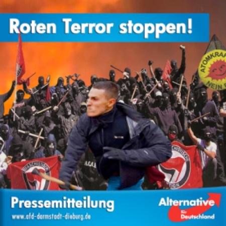 AfD gg roten Terror