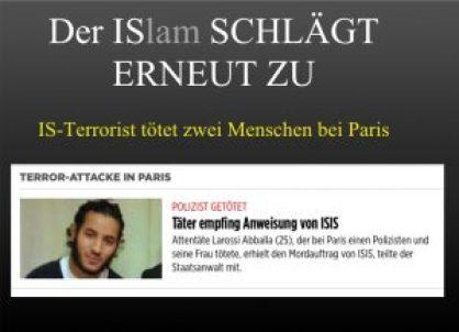 IS toetet Polizist bei Paris