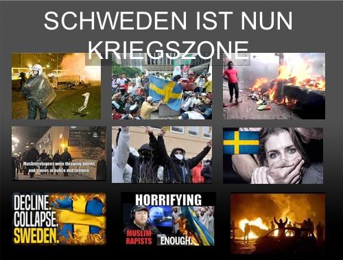 """Leitende schwedische Staatsanwältin: """"Schweden hat nun eine Kriegszone"""""""