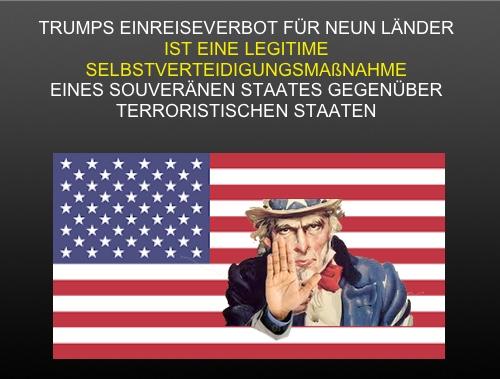 Trump erweitert das Einreiseverbot in die USA auf weitere islamische Staaten sowie auf Venezuela und Nordkorea