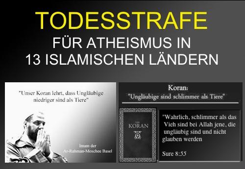 Von wegen Religionsfreiheit und Toleranz: In diesen 13 islamischen Staaten droht die Todesstrafe für Atheisten