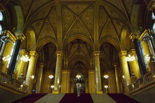 Здание парламента, интерьер