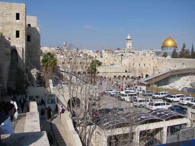 Храмовая гора и Западная стена