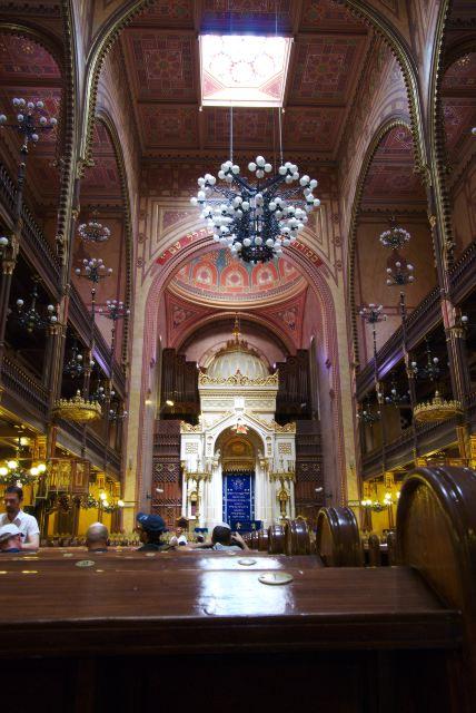 Синагога на улице Дохань— молельный зал