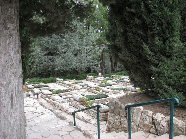 Военное кладбище на горе Герцля