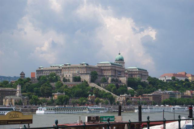 Дворец в Будайской крепости