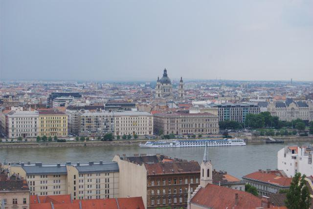 Панорама Будапешта с Крепостной горы