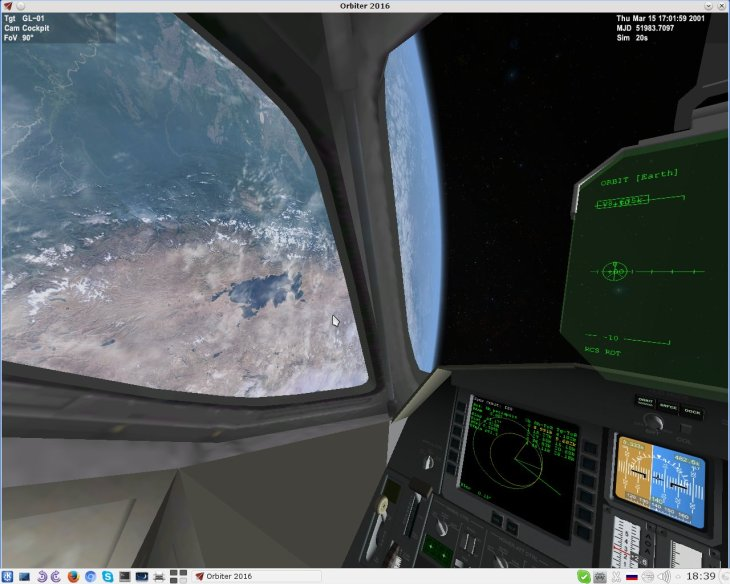 Orbiter 2016 Delta-glider