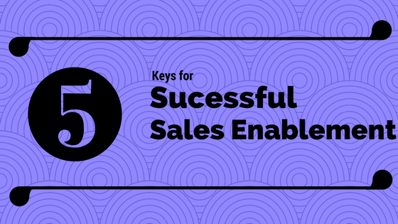 The Five Keys to Successful Sales Enablement Initiatives
