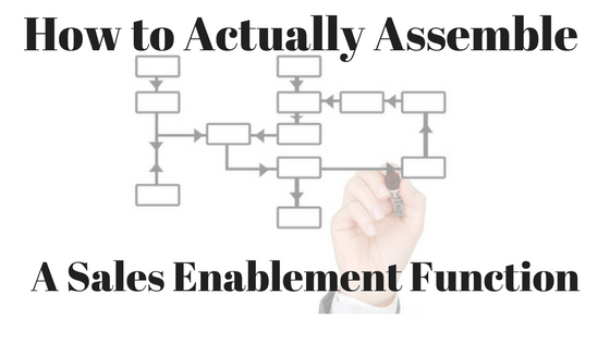How to Build a Sales Enablement Organization