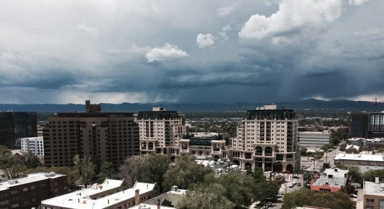 stormy Denver