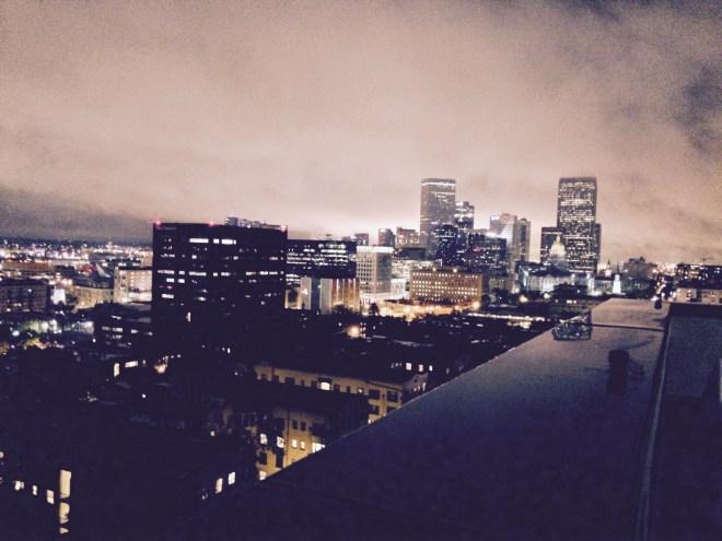 Fireworks over Denver
