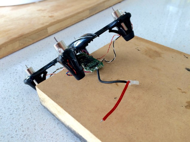 Drone wth busted wire