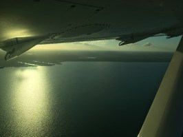 Belize from the sky.