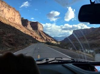 The Canyonlands in Utah.
