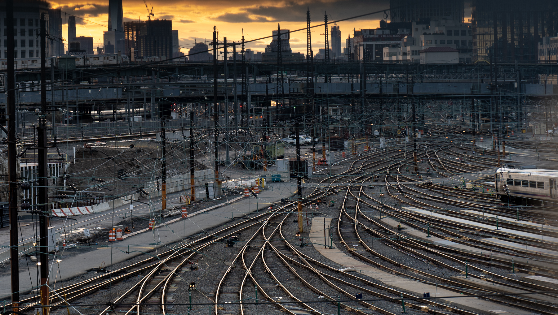 Spaghetti Tracks – Sunnyside Rail Yard in Queens
