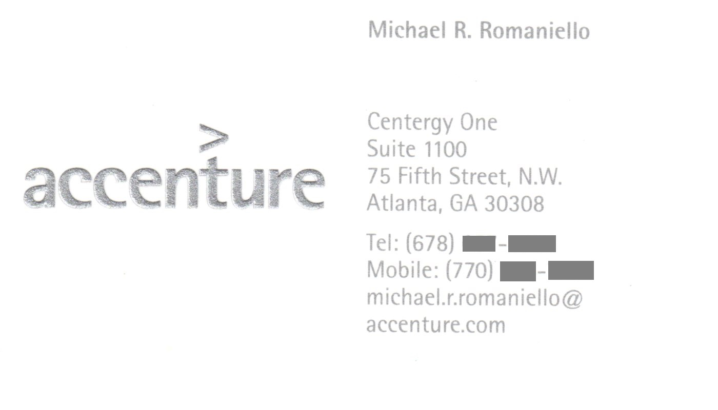 Accenture business card template dawaydabrowa accenture business card template fbccfo Choice Image