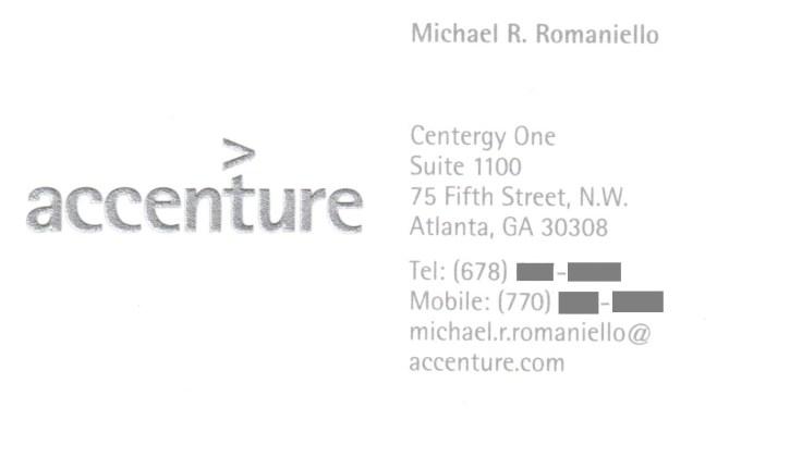 Accenture, Consultant