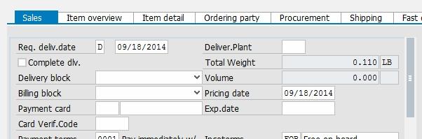 SAP: Sales Document Date Fields Demystified - Michael Romaniello