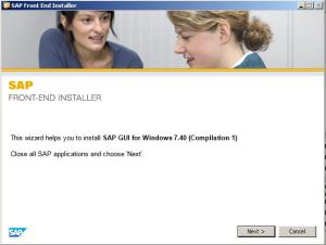SAP GUI - Installation