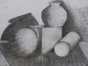 Year 7_Pencil_Still life