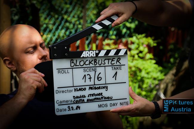 """6D – """"Blockbuster – Das Leben ist ein Film"""" – Drehtag 14; Presse- & Set-Fotografie/Out- & Indoor"""