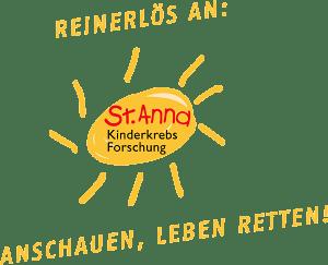 Reinerlös an: St. Anna Kinderkrebsforschung